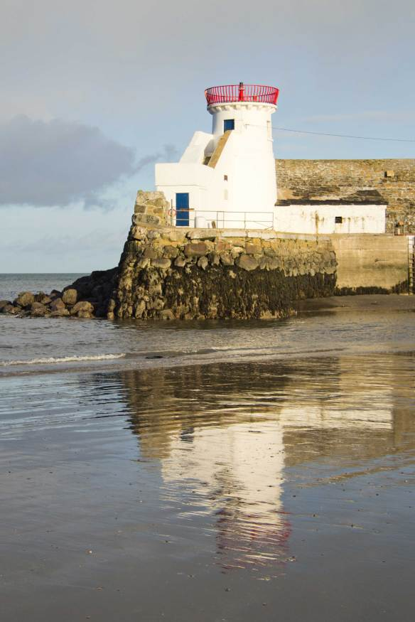 Balbriggan lighthouse, built by the Hamilton family in 1796